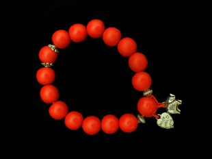 Cinnabar made with love bracelet
