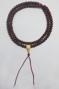 Brown Lotus seed mala 8.5mm